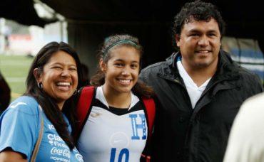 Hondureña Elexa Bahr, podría jugar para la Selección femenina de los EE.UU.