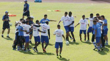 "La ""H"" Sub-23 ya hizo su primer entrenamiento en San Pedro Sula"