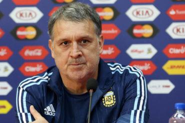 Tata Martino renuncia como seleccionador de Argentina