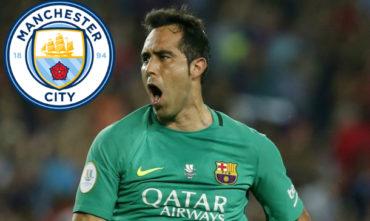 OFICIAL: Claudio Bravo deja al Barcelona y se marcha al Manchester City