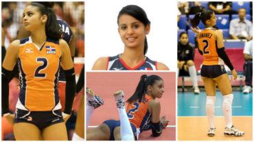 Hermosa voleibolista dominicana arranca suspiros en los Olímpicos de Río