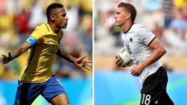 Brasil y Alemania se citan en la lucha por el oro en los Olímpicos de Río