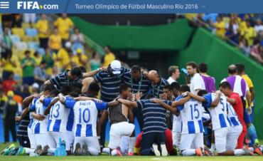 La FIFA destaca la ilusión que mantiene la Sub-23 de Honduras