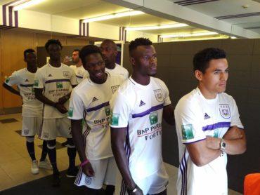 Andy Najar regresó a los campos de entrenamientos del Anderlecht