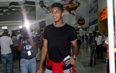Anthony Lozano ya está en Honduras para incorporarse a la Bicolor