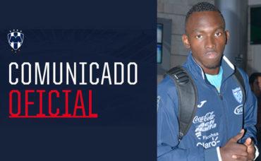 Monterrey de México hace oficial el fichaje del delantero Alberth Elis