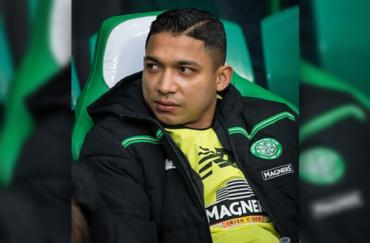 Emilio Izaguirre nuevamente estuvo en la banca en el triunfo del Celtic