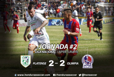 En una calor infernal, Olimpia y Platense ofrecieron un partidazo en Puerto Cortes