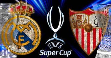 Este martes se enfrentan por la Supercopa, Real Madrid-Sevilla
