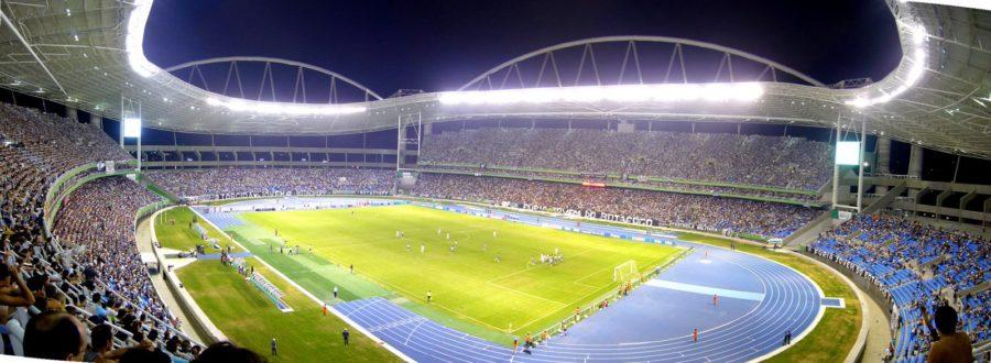 """Estadio Nilton Santos, donde la """"H"""" jugará dos partidos en los Olímpicos"""