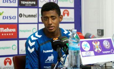 Anthony Lozano le quiere dar los primeros tres puntos al Tenerife