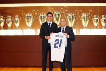 Álvaro Morata prometió entregarse a Real Madrid