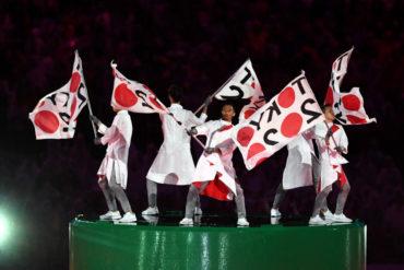 Bandera olímpica llegó a Tokyo, sede de los JJOO del 2020