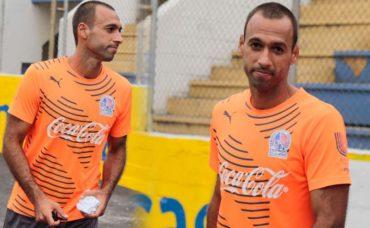 Fabio de Souza se sumó a los entrenamientos del Olimpia