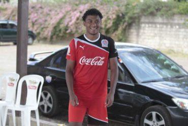 Sorpresa: Ever Alvarado ha entrenado este martes con la camisa del Olimpia