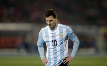 Messi, lejos de la selección argentina