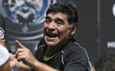 Maradona felicita a Bauza por ser el nuevo entrenador de la Albiceleste