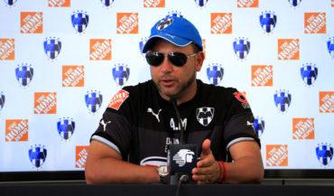 """Antonio Mohamed: """"Antes de los Olímpicos ya quería tener a Elis en Monterrey"""""""