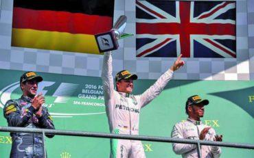 Nico Rosberg gana el Gran Premio de Bélgica