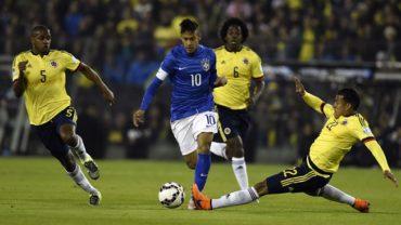 Brasil-Colombia, una eliminatoria de alta tensión