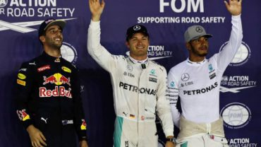 El piloto Alemán, Nico Rosberg tomó el liderato del Mundial de F1