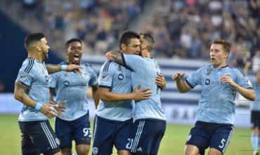Kansas City de Roger Espinoza empató con el Houston Dynamo de Boniek García