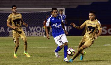 Impresionante remontada logró Honduras Progreso ante los Pumas de México