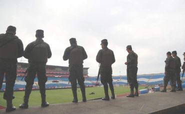Policía Nacional garantiza la seguridad de los aficionados que asistan al Olímpico