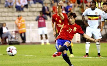 España se impuso a una decepcionante Bélgica