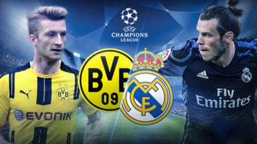 ¡Hoy hay Champions! Dortmund y Real Madrid tendrán un duelo de poder a poder