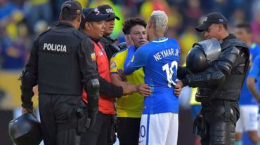 Neymar sigue mostrando su buen lado humano