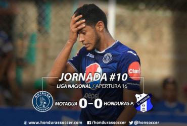 El Motagua inicia la segunda vuelta con empate ante Honduras Progreso