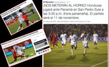 """Así reaccionó la prensa panameña tras conocer que jugarán ante la """"H"""" en San Pedro Sula"""