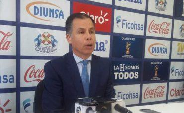 """José Mejía: """"Esta multa afectan las finanzas de la Federación"""""""