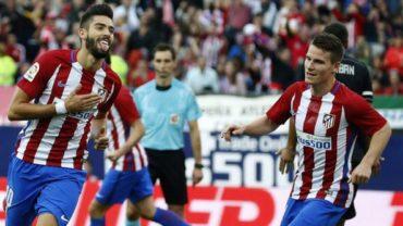 El Atlético se mantiene como líder de la Liga Española