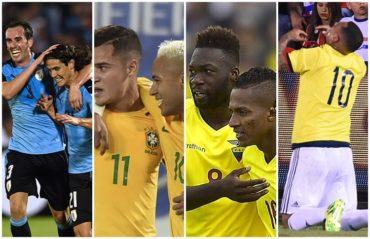 Segunda jornada importante en las eliminatorias de Sudamérica