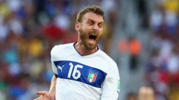 """De Rossi será premiado por UEFA por superar las 100 presencias como """"azzurro"""""""