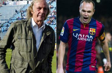 """Menotti: """"Iniesta es el mejor del mundo y le deben un Balón de Oro"""""""