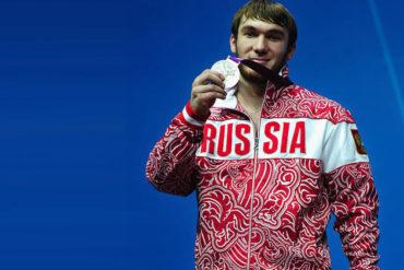 Comité Olímpico retiró medalla a ruso Apti Aukhadov por dopaje