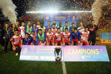 El Espanyol se llevo la Copa de Cataluña al vencer al Barcelona