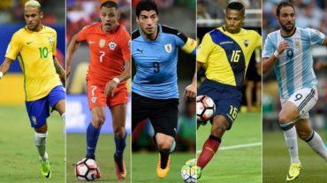 Hoy se disputa la segunda jornada de las eliminatoria en CONMEBOL