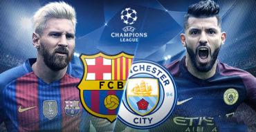 ¡PARTIDAZO…! Barcelona recibe al Manchester City de Pep Guardiola