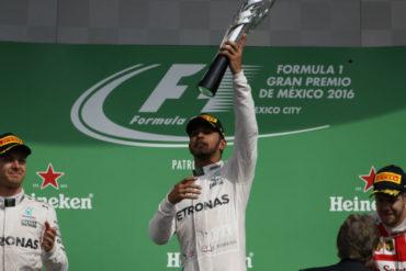 Lewis Hamilton gana el Gran Premio de México de Fórmula 1