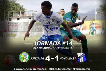 Juticalpa FC le pasó por encima al Honduras Progreso