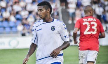 Anthony Lozano sigue con su pobre producción de goles con el Tenerife
