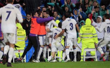 Morata le da el liderato al Real Madrid