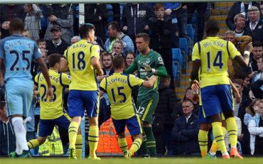 Manchester City no pudo pasar del empate ante el Everton