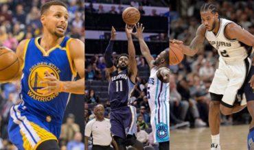 Warriors, Spurs y Grizzlies mantienen rachas ganadoras
