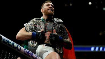McGregor noquea a Álvarez, logra su 2do cinturón de la UFC