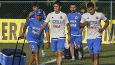 Colombia se alista para recibir a Chile en Barranquilla